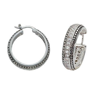Montana Silversmith's Western Crystal Stud Trim Earrings