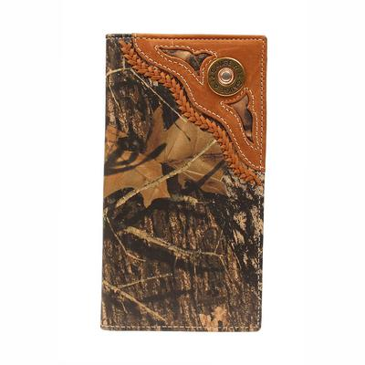 Nocona Men's M&F Western Camo Mossy Oak Breakup Rodeo Wallet
