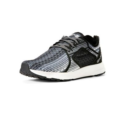 Arait Women's Grey Stripe Fuse Shoe