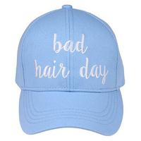 Women's Light Blue Bad Hair Day Cap
