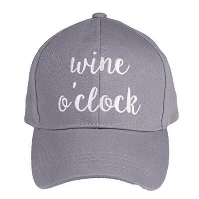Women's Grey Wine O'Clock Cap