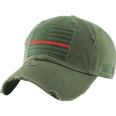 Women's USA Flag Patch US Army Military Vintage Cap