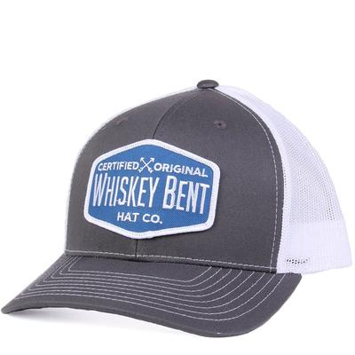 Whiskey Bent's Grey and White Certified Original Cap