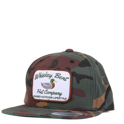 Whiskey Bent's Camo Green Head Cap