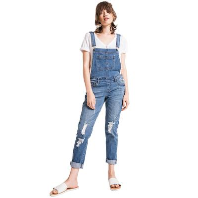 Others Follow Women's Melanie Denim Overalls
