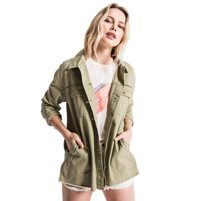 White Crow Women's Moss Green Downtown Jacket