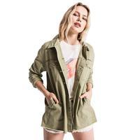 White Crow Women's Moss Green Downtown Jacket