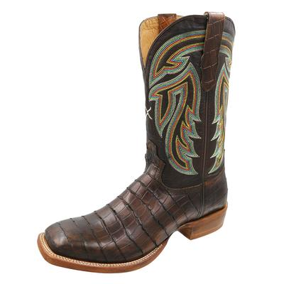 Twisted X Men's Chocolate Gator Print Boot