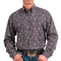 Cinch Men's Paisley Print Button Shirt