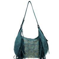 Montana West's Turquoise Delila Hobo Handbag