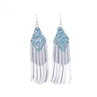 Plume Triple Boho Earring