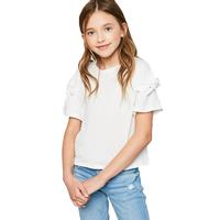 Hayden Girl's Bow Sleeve Tee