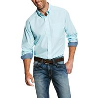 Ariat Men's Awash Wrinkle Free Solid Pinpoint Oxford Shirt