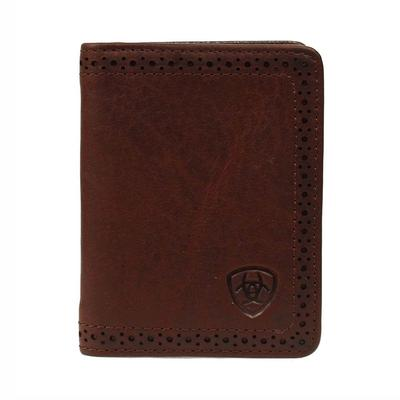 Ariat Men's M&F Western Dark Copper Bi-Fold Flip Case
