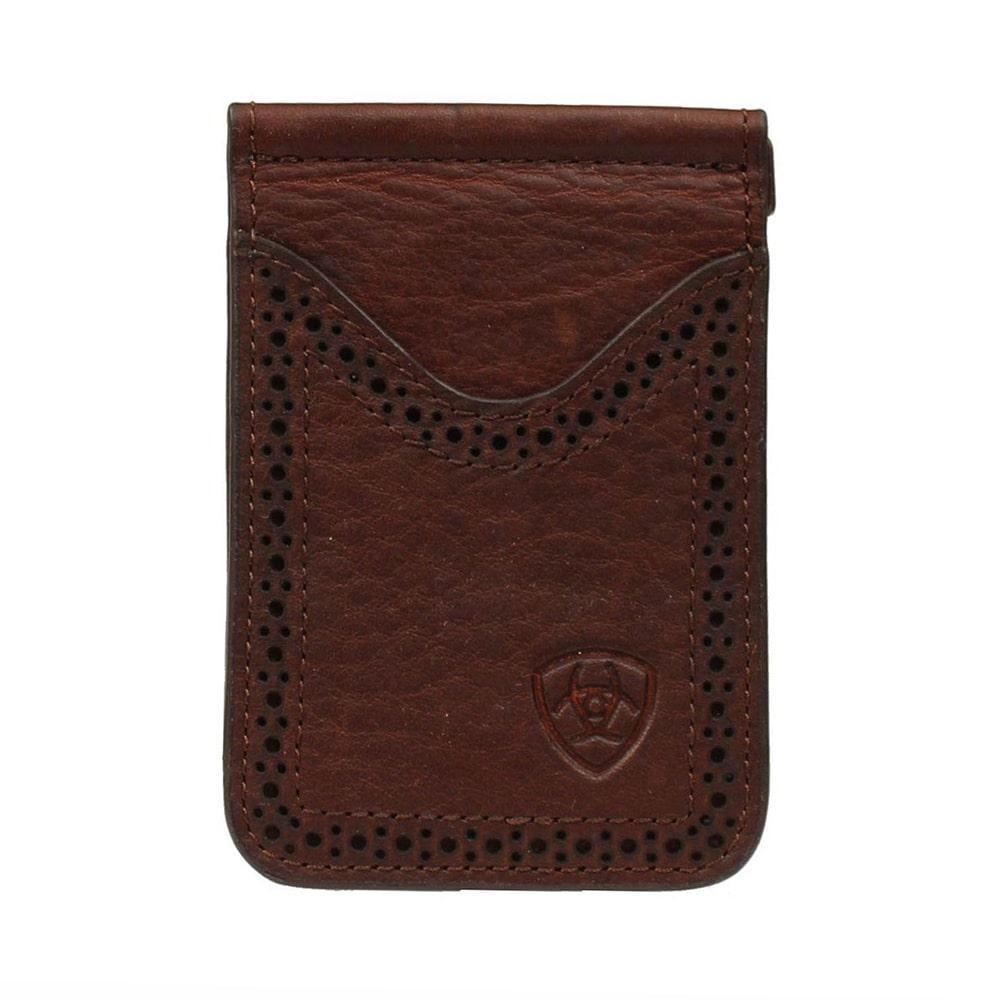 4fab15957fcd Ariat Mens M & Amp ; F Western Bi- Fold Money Clip Wallet
