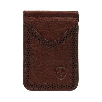 Ariat Men's M&F Western Bi-Fold Money Clip Wallet