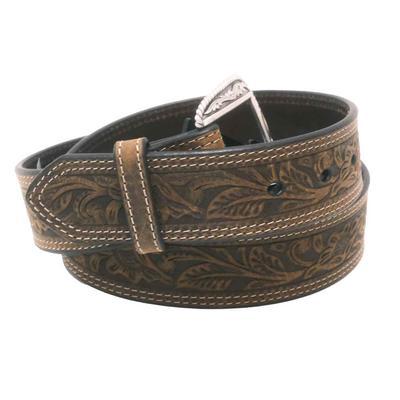 Ariat Men's M & F Western Tooled Leather Belt