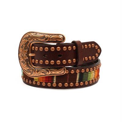 Ariat Women's M & F Western Serape Studded Belt