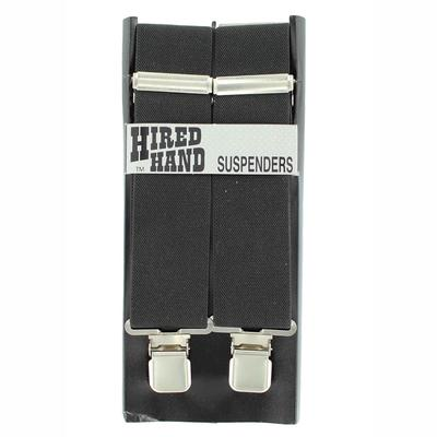 Nocona Men's M&F Western Black Suspenders