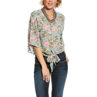Ariat Women's Camo Floral Mai Tai Shirt