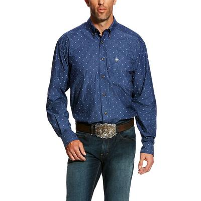 Ariat Men's Gatham Print Shirt