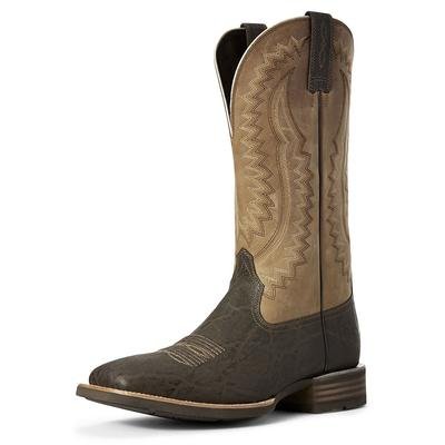 Ariat Men's Chocolate Elephant Print Hot Iron Western Boots