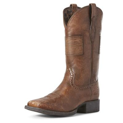 Ariat Women's Brown Round Up Patriot Boots
