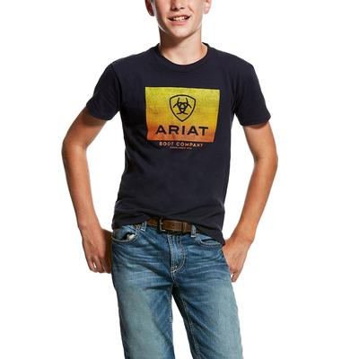 Ariat Boy's Navy Gradient T-Shirt
