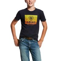 Ariat Boy's Navy Gradient T-Shirt