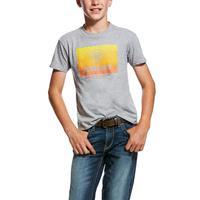 Ariat Boy's Grey Gradient T-Shirt