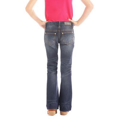Rock & Roll Denim Girls Dark Vintage Trouser Jean
