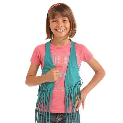 Panhandle Slim Girl's Fringe Vest