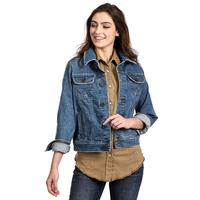 Wrangler Women's Medium Wash Denim Jacket