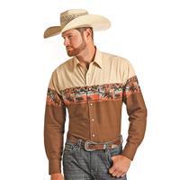 Panhandle Select Men's Aztec Snap Shirt