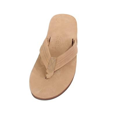 Rainbow Sandal Men's Single Layer Leather Sandal