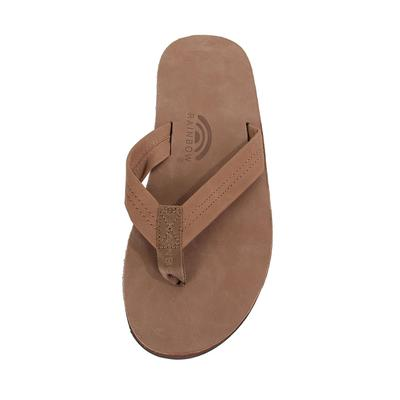 Rainbow Sandal Men's Double Layer Leather Sandal