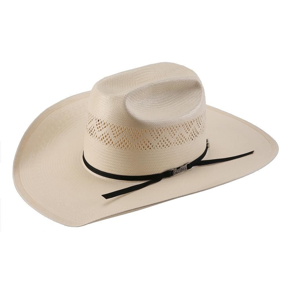 d633d6b41 American Hat Company Mens Tuf Cooper Straw Hat