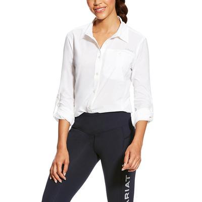 Ariat Women's White Vent Tek Ii Shirt