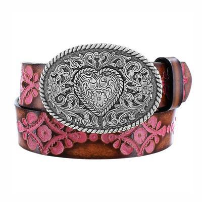 Justin Girl's Pink Hope Belt