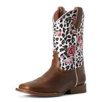 Ariat Girl's Busted Brown Gringa Boot