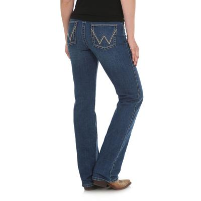 Wrangler Women's Gold Hill Q-Baby The Ultimate Riding Jean