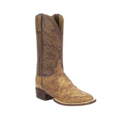 Lucchese Men's Cognac Russel Boots