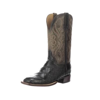 Lucchese Men's Black Roy Boots