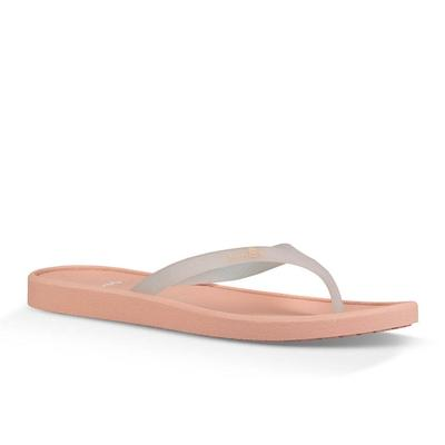 Sanuk Women's Jelly Sidewalker Flip Flops