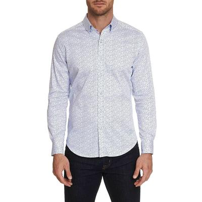 Robert Graham Men's Becan Embroidered Sport Shirt