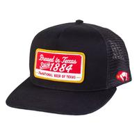 Hooey Men's Black Lonestar 1884 Cap