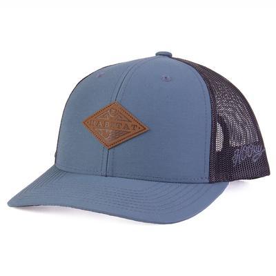 Hooey Men's Blue and Black Graphite Cap