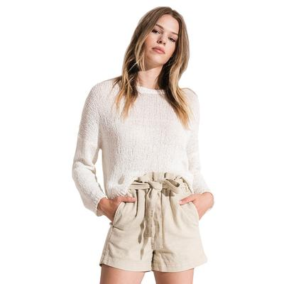 Rag Poets Women's Amargosa Cropped Sweater