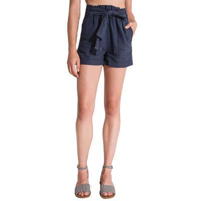Rag Poets Women's Hermosa Paperbag Tie Shorts