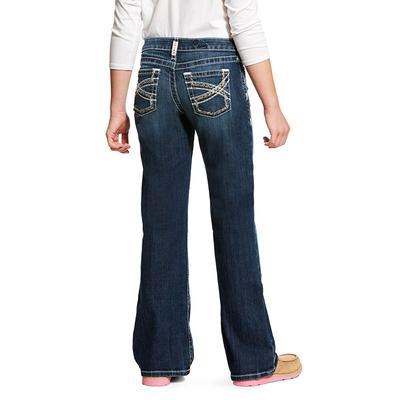 Ariat Girl's Dresden REAL Entwined Bootcut Jeans